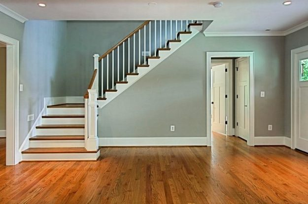 Simple Painting/Move-in Tips: Save the Doorways and Stairwell for Last