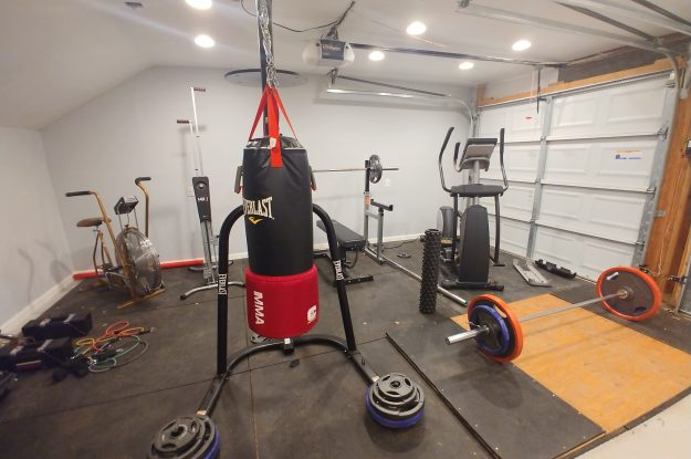 The Day I Turned My Garage Into a Gym