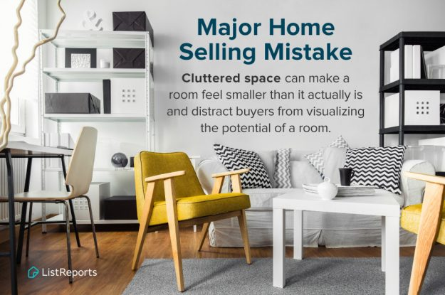 For Those Looking to Sell in the Spring, Now's a Great Time to De-clutter
