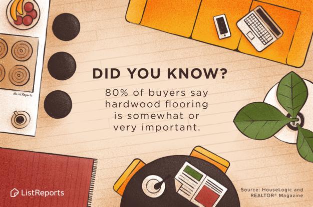 Hardwood Floors Top List of Buyer Needs/Wants