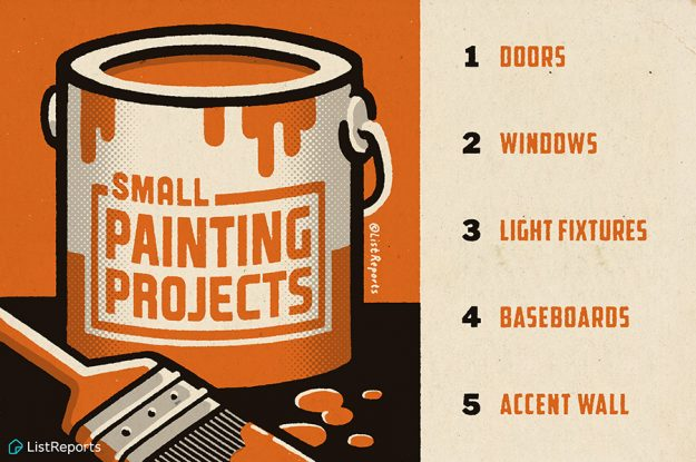 Make the Most of Your Time Indoors with Small Paint Projects