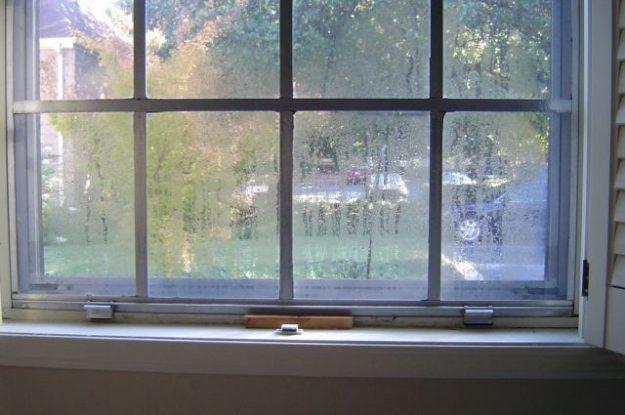 Moisture Accumulation on Windows
